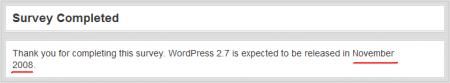 wordpress 2.7将于十一月发布