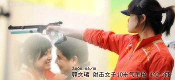 郭文珺 女子10米气手枪