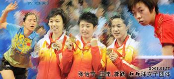 中国 乒乓球 女子团体
