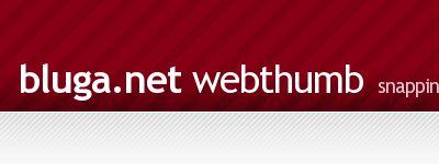 网站截图bluga.net的easythumb API